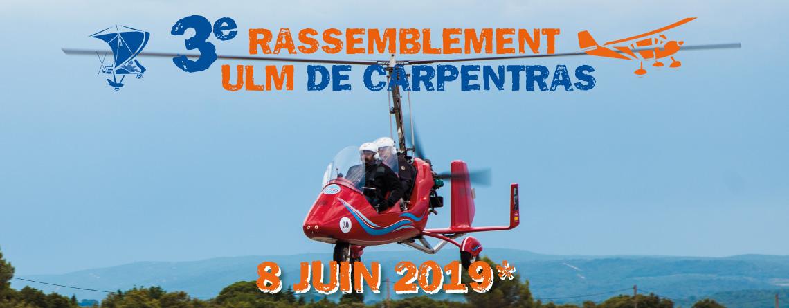 3e Rassemblement ULM de Carpentras