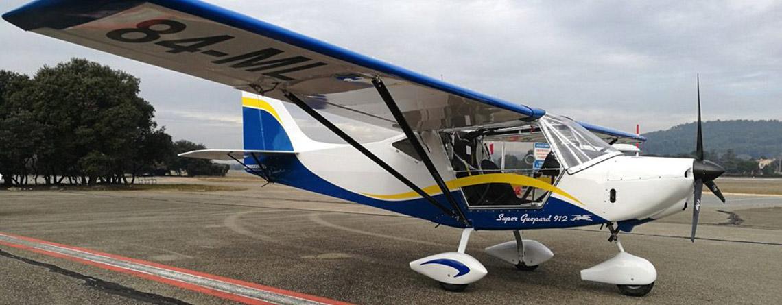Un nouvel ULM pour la formation des pilotes à Carpentras